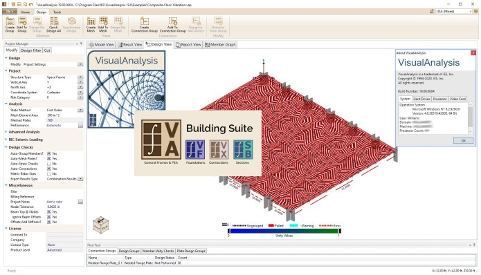 Working with IES VisualAnalysis v19.00.0004 full license