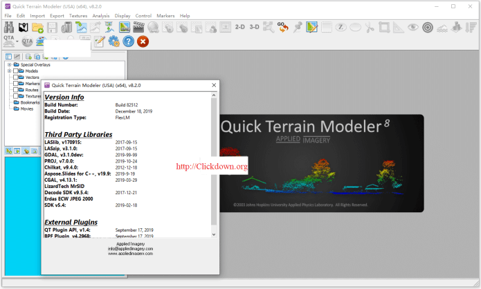 Working with Applied Imagery Quick Terrain Models 8.2.0 full