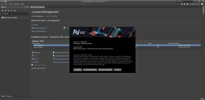 Working with Altium Nexus 3.1.11 build 64 full license