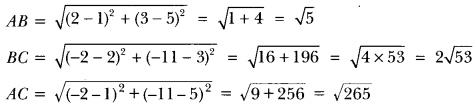 Coordinate Geometry Class 10 Extra Questions Maths Chapter 7 with Solutions Answers 26