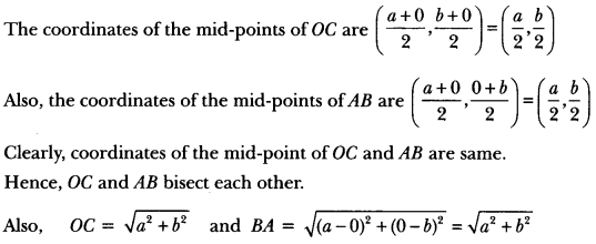 Coordinate Geometry Class 10 Extra Questions Maths Chapter 7 with Solutions Answers 70