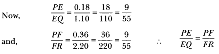 Triangles Class 10 Extra Questions Maths Chapter 6 with Solutions Answers 14