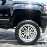 Lifted Gmc Sierra 2500 Denali Hd With 22in American Force Flickr