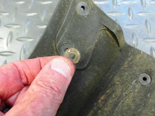 Mud Flap Hardware Detail