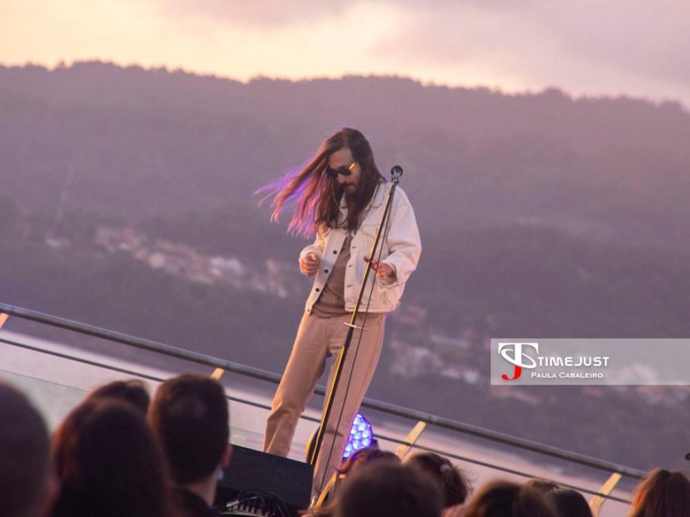 Concierto de Carlos Sadness en el Festival TerraCeo (15-08-2020)