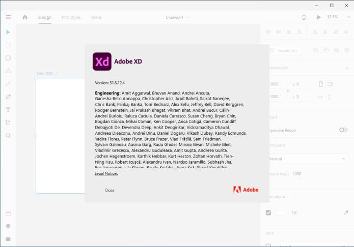 Working with Adobe XD CC 2020 v31.3.12 full