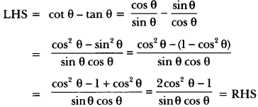 Introduction to Trigonometry Class 10 Extra Questions Maths Chapter 8 with Solutions Answers 24