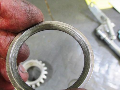 Exhaust Nut Large Sealing Ring Detail