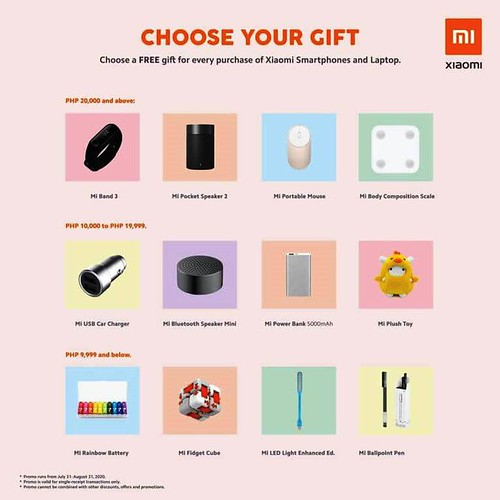 Xiaomi 10th Anniversary Sale - Gift