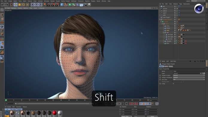 Working with Maxon CINEMA 4D S22.118 full license