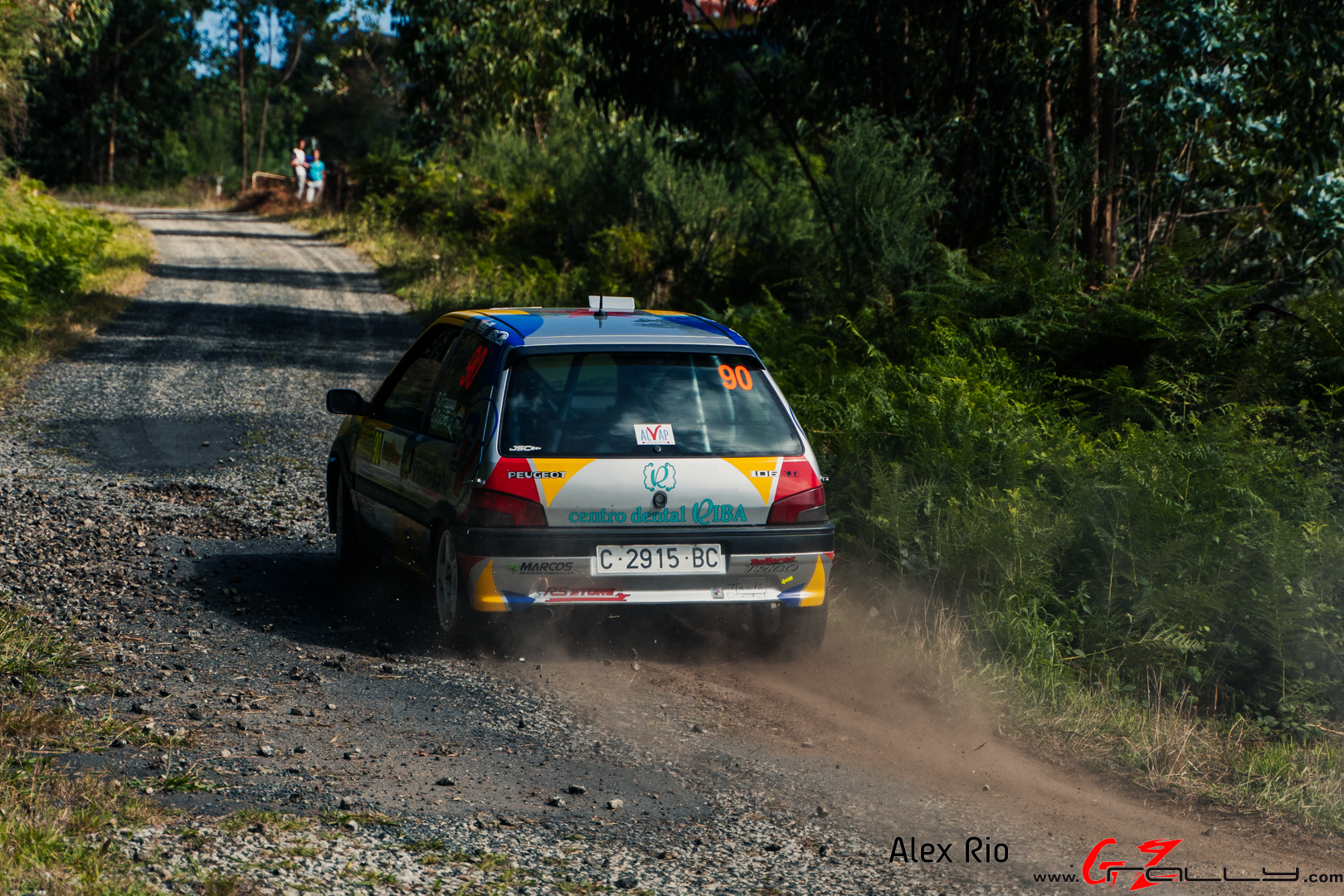 Rally de Ferrol 2020 - Alex Rio