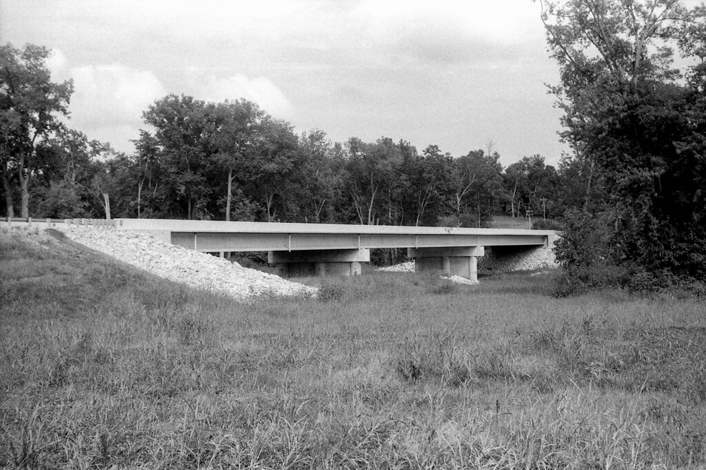 Replacement SR 46 bridge near Bowling Green