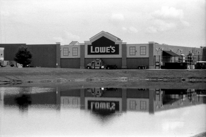 Lowe's, overexposed
