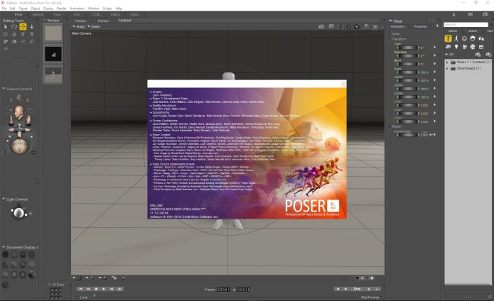 Working with Smith Micro Poser Pro 11.1.0.34764 + Content full