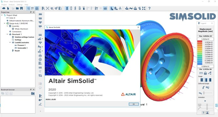 Working with Altair SimSolid 2020.1.0.85 full