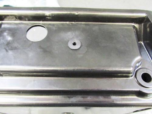 Air Box Carburetor Vacuum Line Tee Grommet Installed