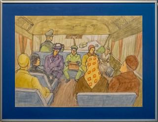 Im Überlandbus