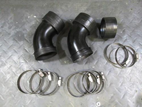Carburetor Air Horns And Hose Clamps