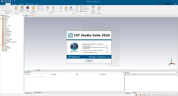 Working with DS SIMULIA CST STUDIO SUITE 2020.07 SP7 full