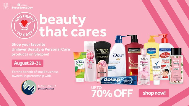 Beauty That Cares - Add Heart to Cart