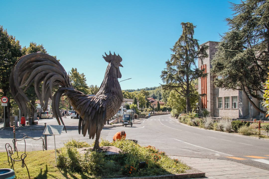 Gallo nero, simbolo del Chianti Classico
