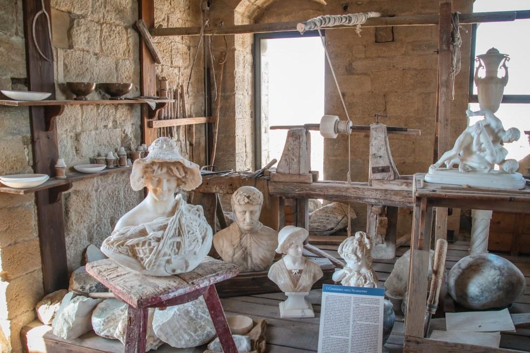 Ecomuseo dell'Alabastro, Volterra