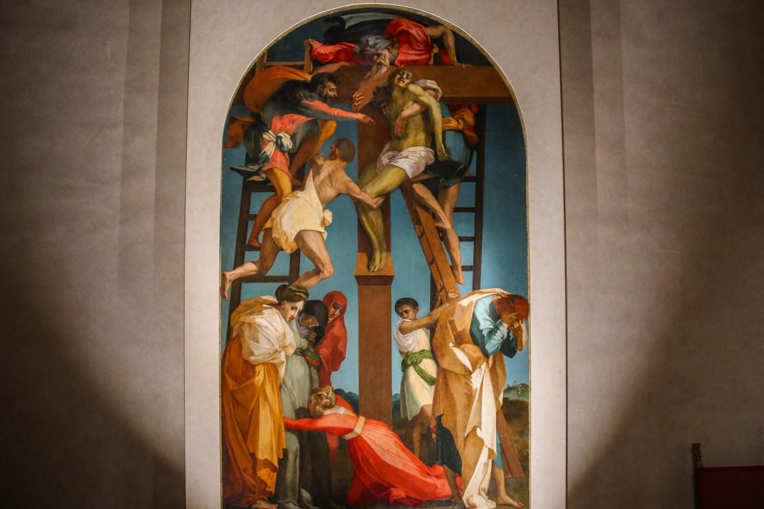 Deposizione di Rosso Fiorentino, Volterra