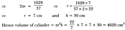 Surface Areas and Volumes Class 10 Extra Questions Maths Chapter 13 with Solutions Answers 49