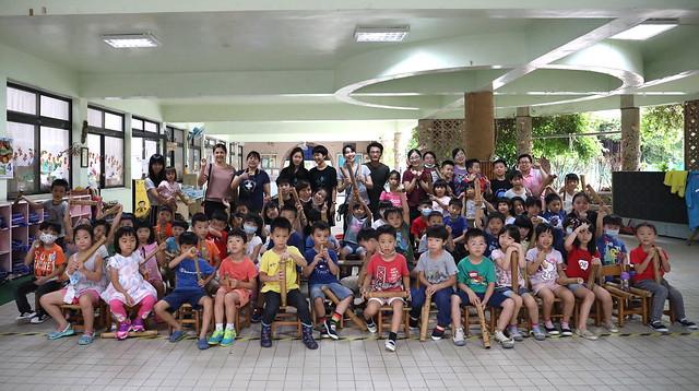 【小朋友木工課】幼兒園「竹子沙鈴」/高中生哥哥姐姐彈吉他