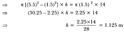 Surface Areas and Volumes Class 10 Extra Questions Maths Chapter 13 with Solutions Answers 89