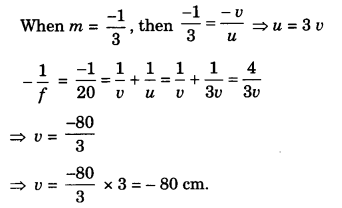 Light Reflection and Refraction Class 10 Extra Questions with Answers Science Chapter 10, 35