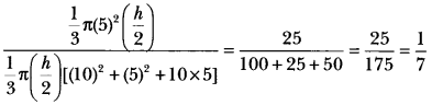 Surface Areas and Volumes Class 10 Extra Questions Maths Chapter 13 with Solutions Answers 81