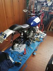 Sella Moto Guzzi V50