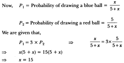 Probability Class 10 Extra Questions Maths Chapter 15 with Solutions Answers 14