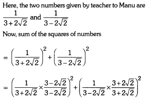 Number Systems Class 9 Extra Questions Maths Chapter 1 with Solutions Answers 33