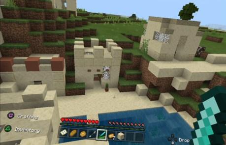 Minecraft x PlayStation VR