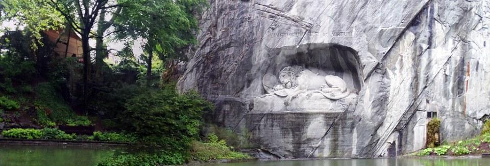 Monumento del León Löwendenkmal Lucerna Suiza