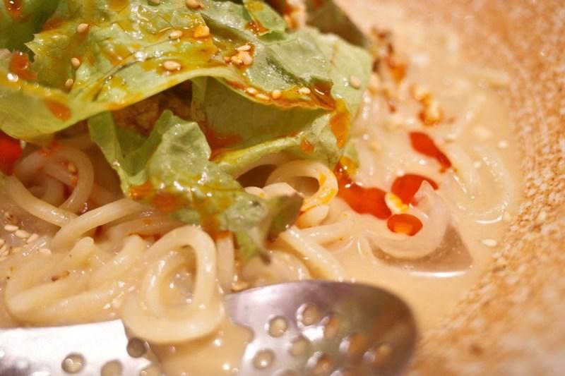 Menya Tsuneji Chilled dandan noodle foodie customized tune macro