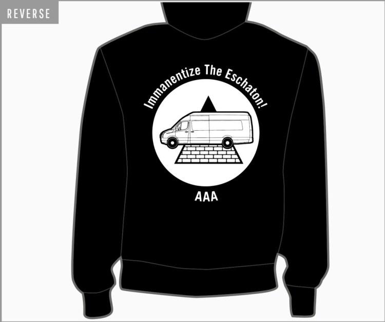 Iron Man Records Hooded Sweatshirt Back