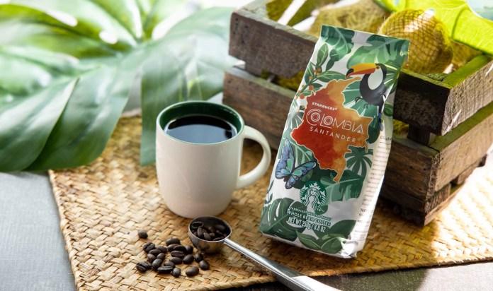 港澳星巴克 Starbucks_Colombia Santander