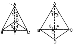 Triangles Class 9 Extra Questions Maths Chapter 7 with Solutions Answers 18