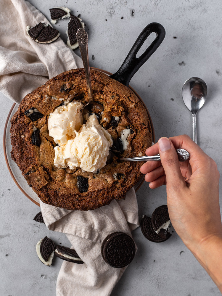 Cookies and Cream Skillet Cookie BLOG (6 of 7)