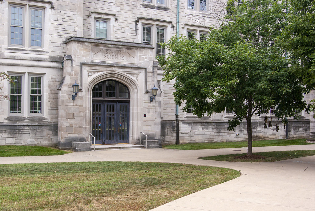 On the Indiana University campus