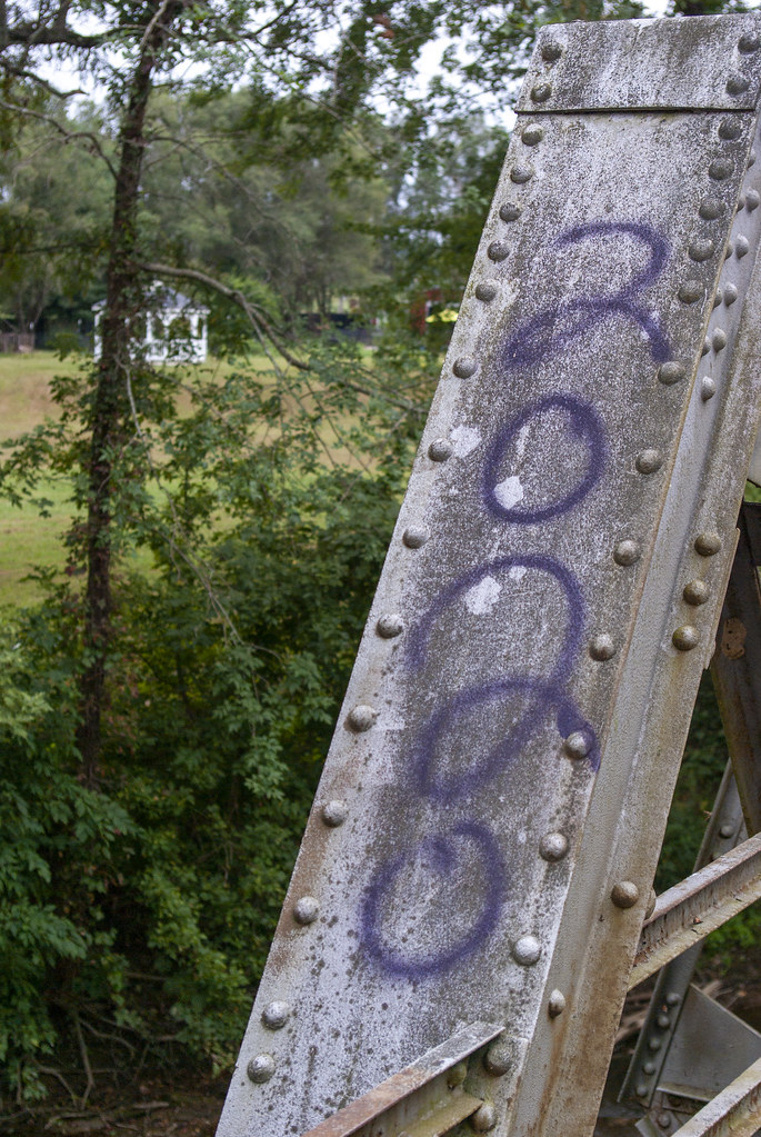 Abandoned bridge on 37/DH