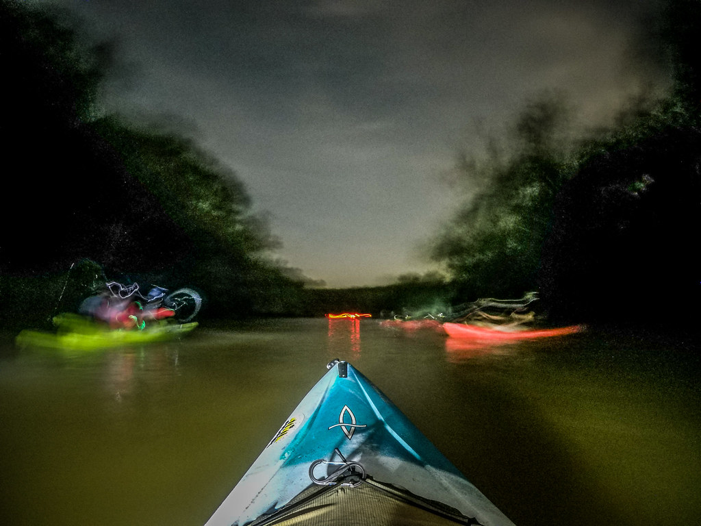 Moonlight Paddle on the Saluda River-8