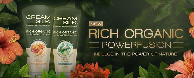 Cream Silk Organic PowerFusion Ultra Conditioner