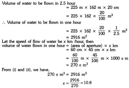 Surface Areas and Volumes Class 9 Extra Questions Maths Chapter 13 with Solutions Answers 16