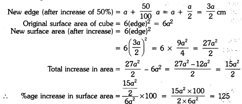 Surface Areas and Volumes Class 9 Extra Questions Maths Chapter 13 with Solutions Answers 178
