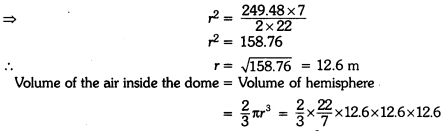 Surface Areas and Volumes Class 9 Extra Questions Maths Chapter 13 with Solutions Answers 17