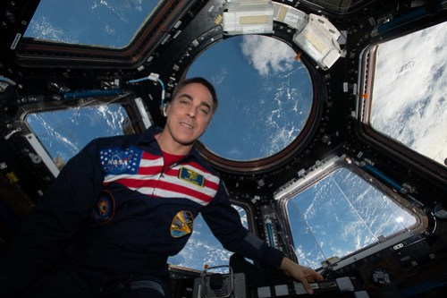 NASA astronaut and Expedition 63 Commander Chris Cassidy